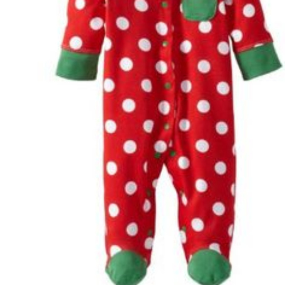 f1c608ceffd94 OFFSPRING HOLIDAY DOT BABY ONE PIECE FOOTIE   HAT. Offspring.  M 5bfe47681b3294d7f6da1a84. M 5bfe4768de6f6214392d8d80.  M 5bfe4889194dad08f5079bad